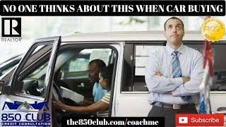 No One Ever Thinks About This When Buying A Car/Auto Loan - App,Personal Credit, One, Secured Loan
