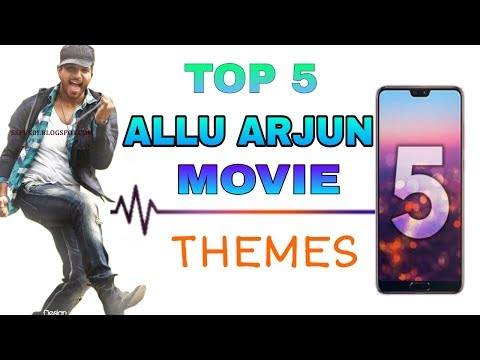 Top 5 Allu Arjun Movie Thems/Ringtones || Best BGM of Allu Arjun || Engineer Bhai