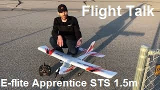 Load Video 2:  E-flite Apprentice STS 1.5m RTF Smart Trainer with SAFE