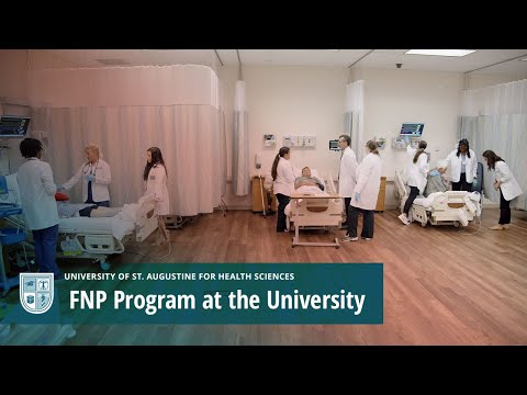 FNP Program at the University of St. Augustine for Health Sciences Video