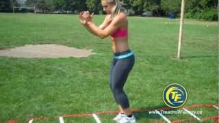 Agility Ladder Training and exercises. Available in Canada.