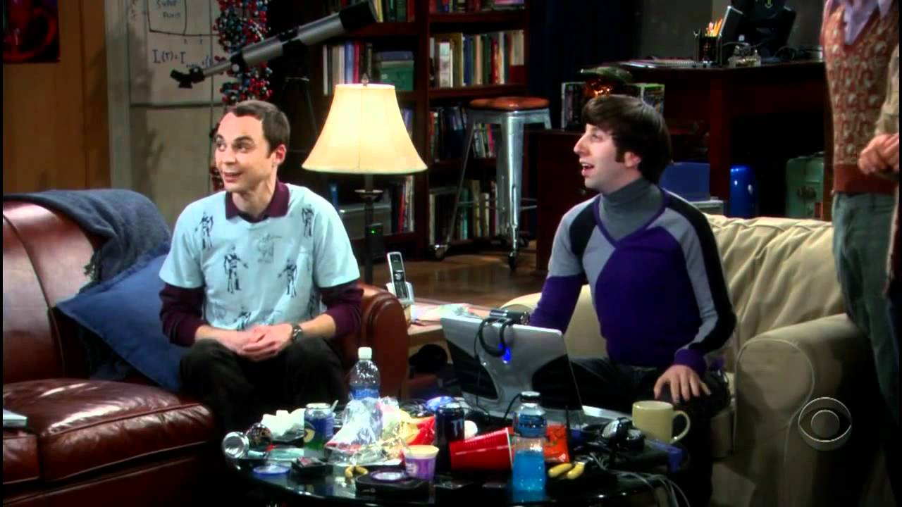 The Big Bang Theory S07E10 720p sheldon gets mad at leonard