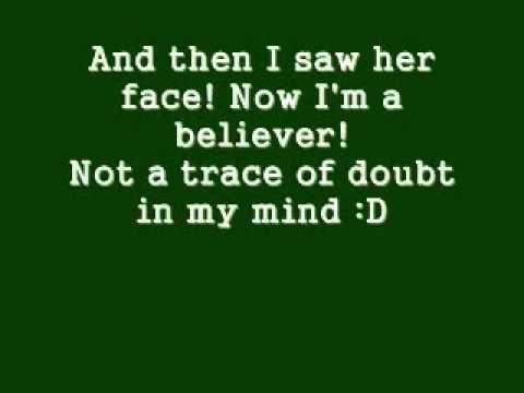 Im A Believer -Smash Mouth LYRICS