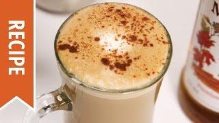 Maple Spice Latte Recipe