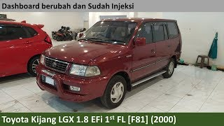 Toyota Kijang LGX 1.8 EFI 1st Facelift (2000) review - Indonesia