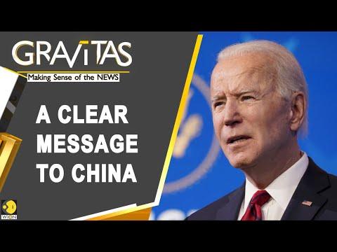 Gravitas: A Week After Taking Office, Joe Biden Sends A Warning To Beijing