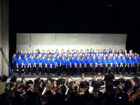 PCC (Plymouth Children Chorus) performing with Plymouth Philharmonic Orchestra