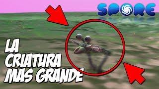 CONSEGUIR A LA CRIATURA MAS GRANDE! NUEVA SERIE! // SPORE #1