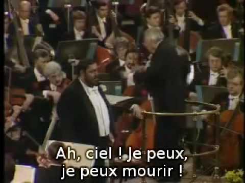 Pavarotti - Una Furtiva Lagrima (sous titré en français)