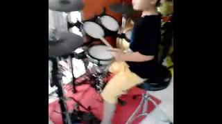 Jengah pas band drum cover devano gabriele 5 year