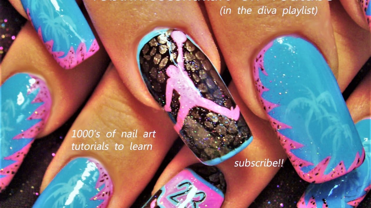 Inspiredbyrobinmoses Nailart Robinmoseswizards