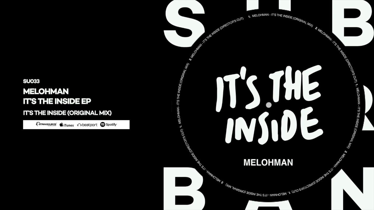 Download Melohman - It's The Inside (Original Mix)