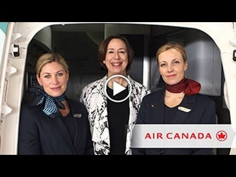 Virtual Presentation: Air Canada Premium Economy Class Demo