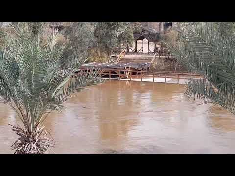 Look At What Happened To The Site Where The 12 Tribes Of Israel Crossed It - Jordan River Overflowed