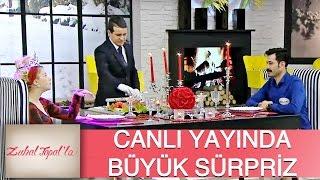 Zuhal Topal'la 106. Bölüm (HD) | İbrahim, Dilek'e Canlı Yayında öyle Bir Sürpriz Yaptı Ki...
