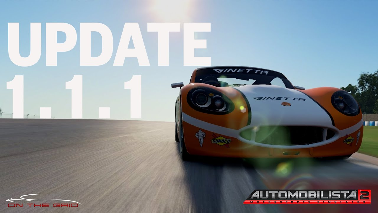 Automobilista 2 Update New Ginettas And Loads Of Improvements