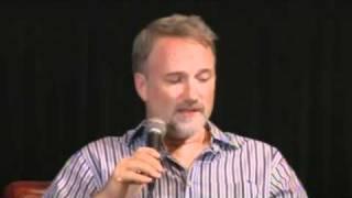 The Social Network - David Fincher Interview Part 1