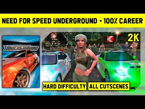 Need For Speed Underground - Full Game On Hard - No Commentary Longplay - 1440p