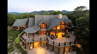 Spacious Luxury Log Cabin with Fabulous Vistas of The Great Smoky Mountains