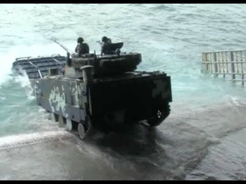 Chinese, Thai Marine Corps Start Joint Onshore Military Drill