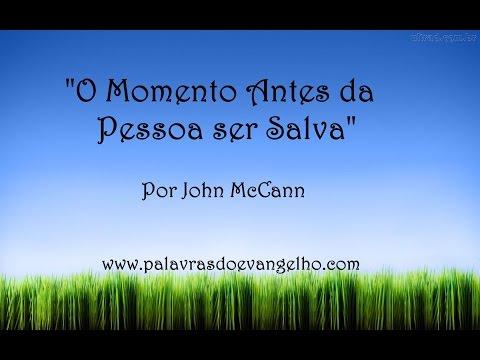 O momento antes da pessoa ser salva - Por John McCann