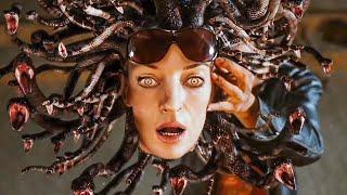 Medusa vs Hydra Scene - PERCY JACKSON & THE OLYMPIANS (2010) Movie Clip