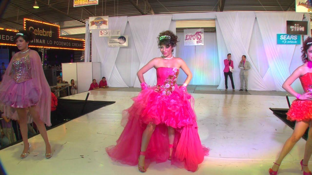 Expo 15 México Pasarela Viann k Mansur y modelando \