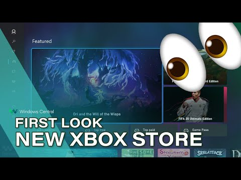 """This is the new Xbox Store for 2020, codename """"Mercury"""""""