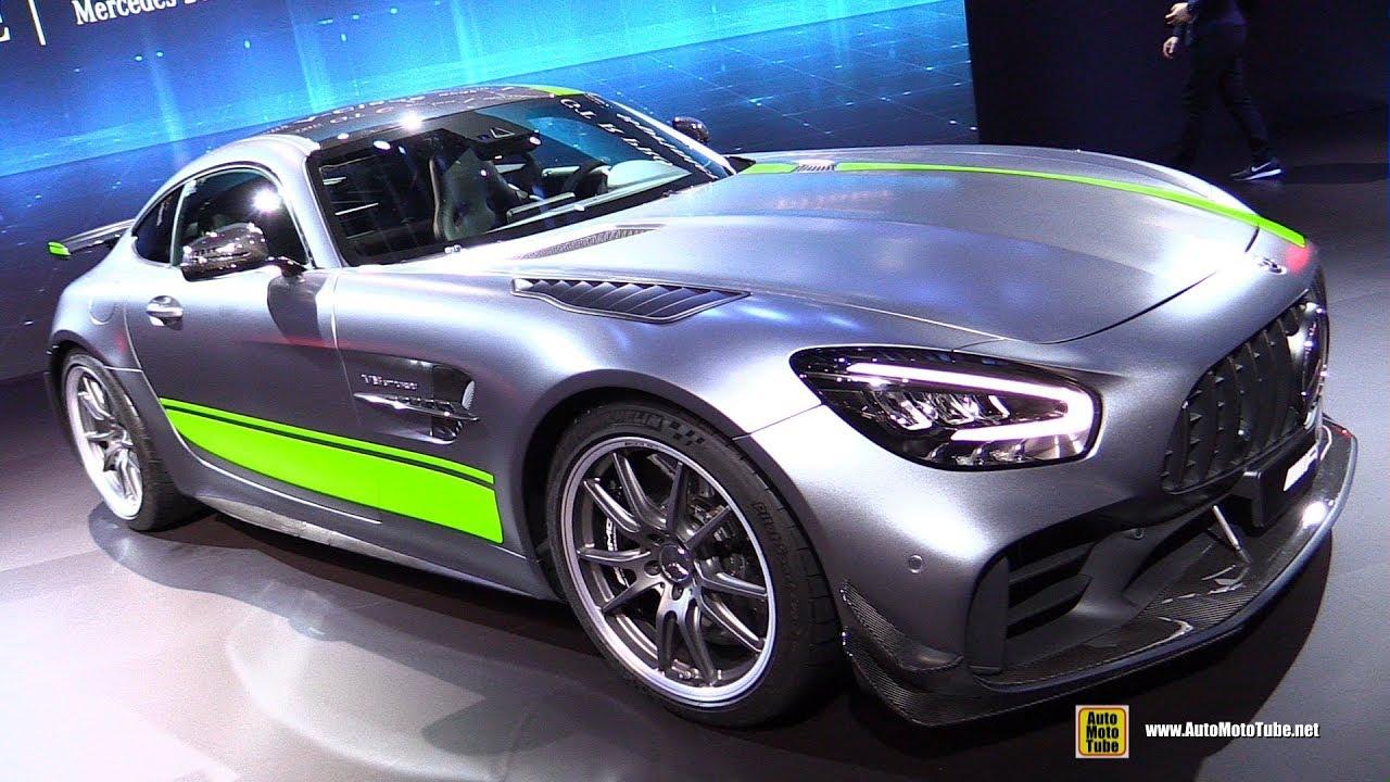 2019 Mercedes Amg Gt R Pro Exterior And Interior Walkaround Debut At 2018 La Auto Show