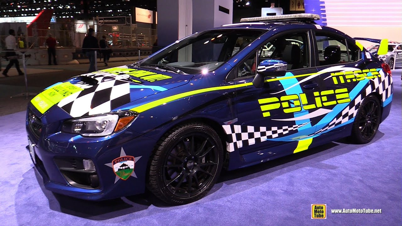 2015 subaru wrx sti itasca police car exterior for Chicago motors used police cars