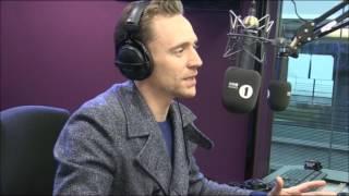 Tom Hiddleston Grimmy BBC Radio 1 2017