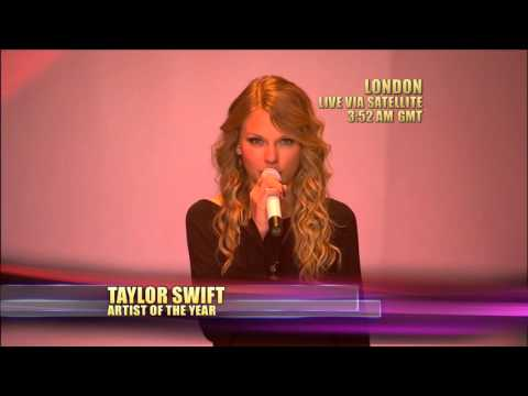 Taylor Swift Wins Artist of the Year - AMA 2009