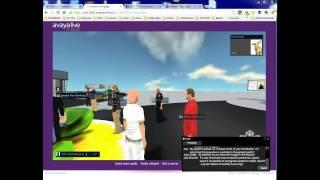 AvayaLive 3D Virtual World Platform