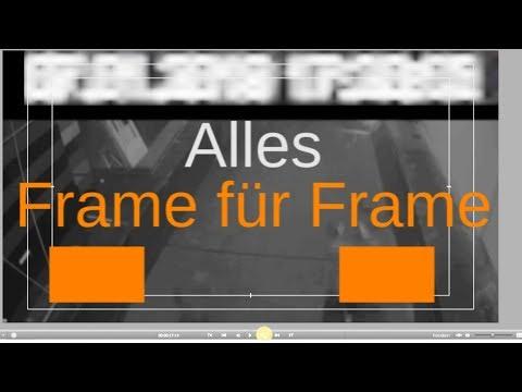 Ü-Video und Zeitstempel Magnitz: Frame für Frame