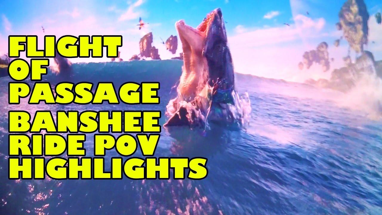 Flight of Passage Ride POV & Behind The Scenes View - Walt Disney World  Animal Kingdom Pandora