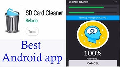 Best SD Card Cleaner  Android app.