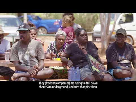 Elliot Northern Territory No Fracking