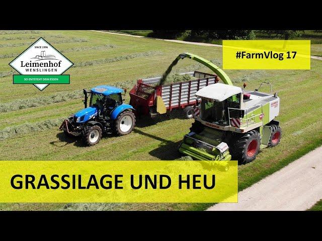 DER ERSTE SCHNITT TEIL 2 #FarmVlog 17 / SILIEREN 2020 / HEUEN 2020