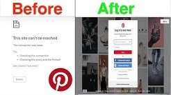 How to Fix Pinterest Not Working on Computer and Mac?