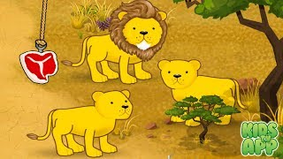 Fun Baby Learn Animal Sounds - Monkey Preschool Animals - Educational Game for Kids and Toddlers