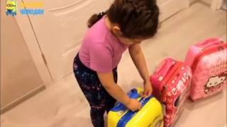 видео чемоданы детские