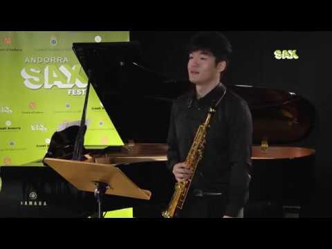 RYO NAKAJIMA – 1st ROUND – V ANDORRA INTERNATIONAL SAXOPHONE COMPETITION 2018