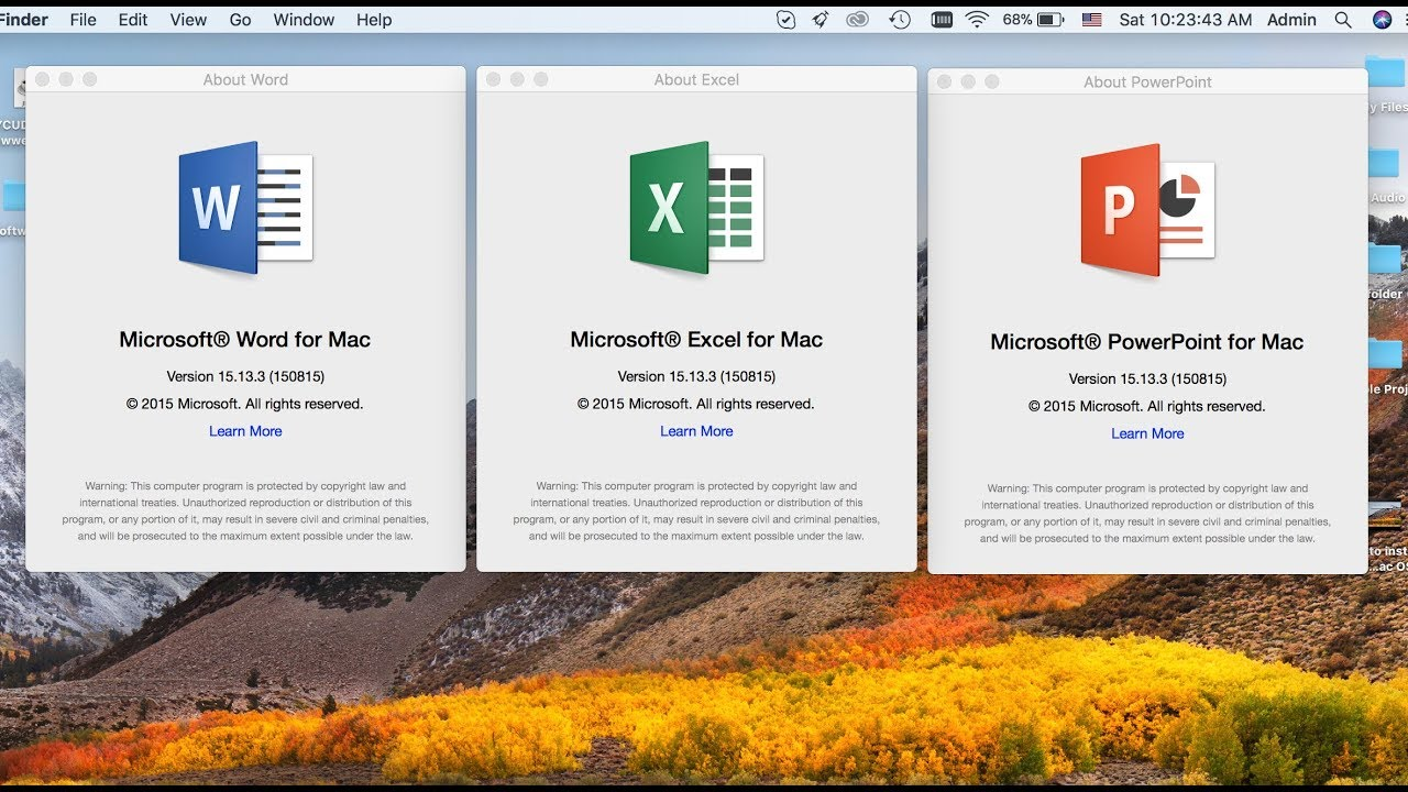 install microsoft office for mac 2016