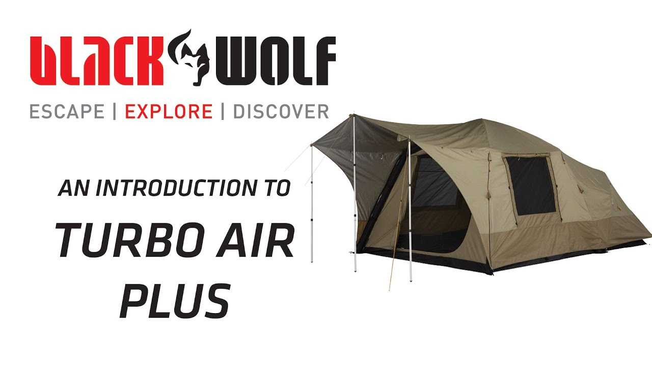 BlackWolf Turbo Air Plus Tent  sc 1 st  YouTube & BlackWolf Turbo Air Plus Tent - YouTube
