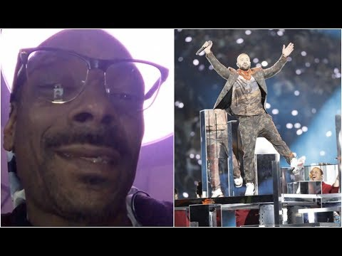 Snoop Dogg Reacts To Justin Timberlakes Super Bowl Performance