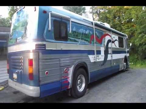 1963 GM 4106 Conversion Bus