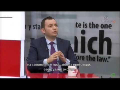 Османи со детали од договорот ДУИ-СДСМ за законот за албанскиот јазик - и банкнотите двојазични