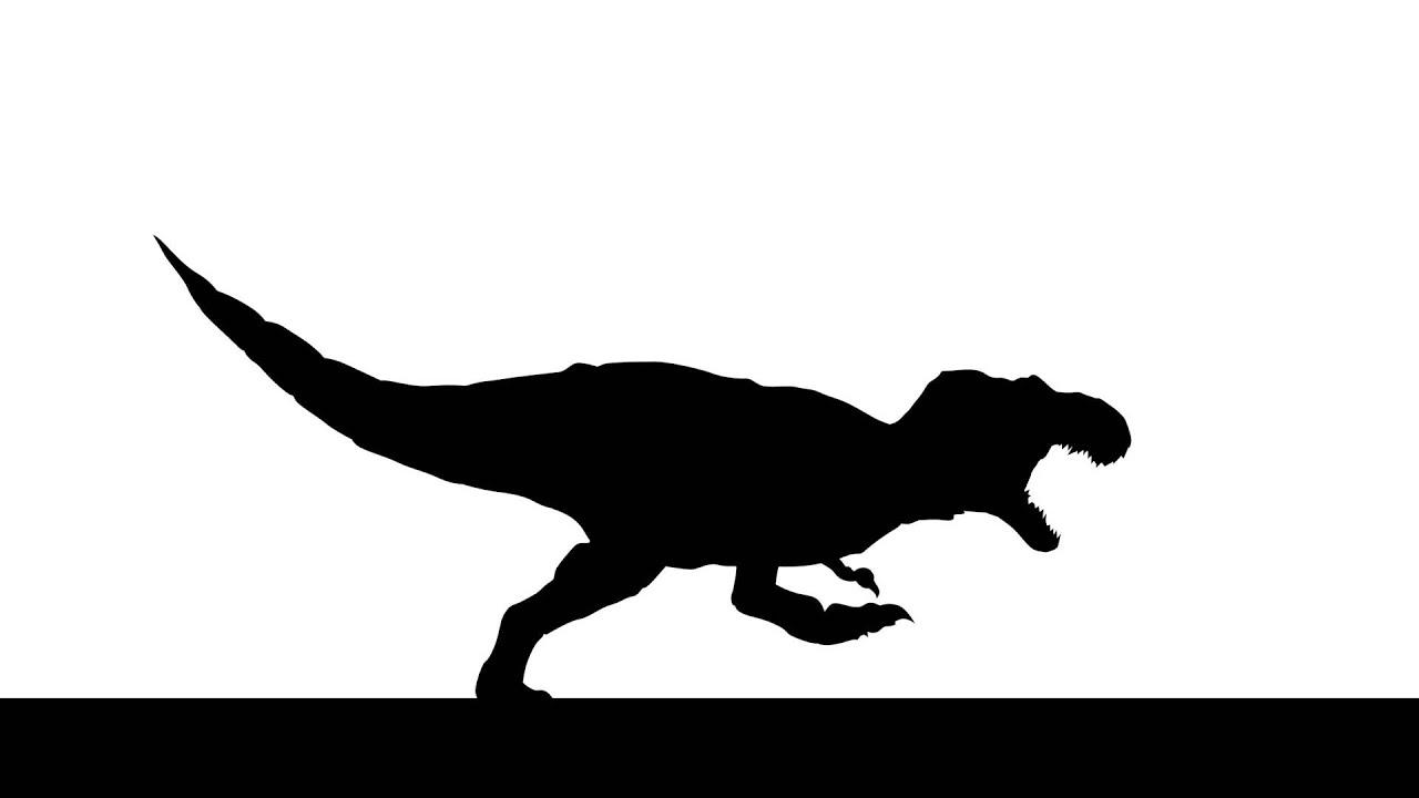 T-rex silhouette - You...