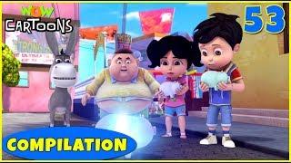 Vir the robot boy | Action Cartoon Video | New Compilation - 53 | Kids Cartoons | Wow Cartoons