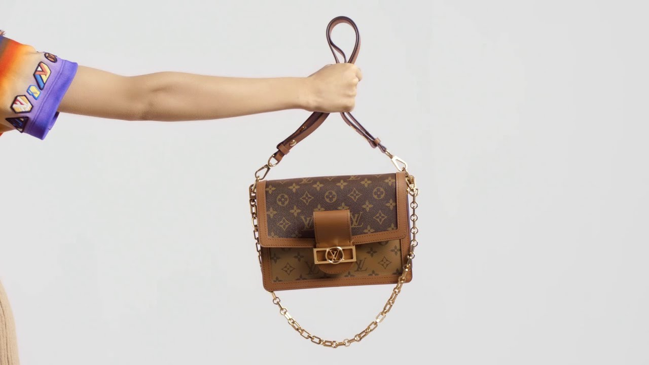 aec3d3756be2 Louis Vuitton Dauphine Bag - YouTube
